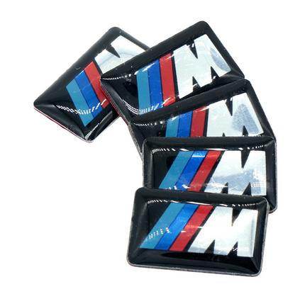 5KS MINI SAMOLEPEK BMW M (10x18mm)