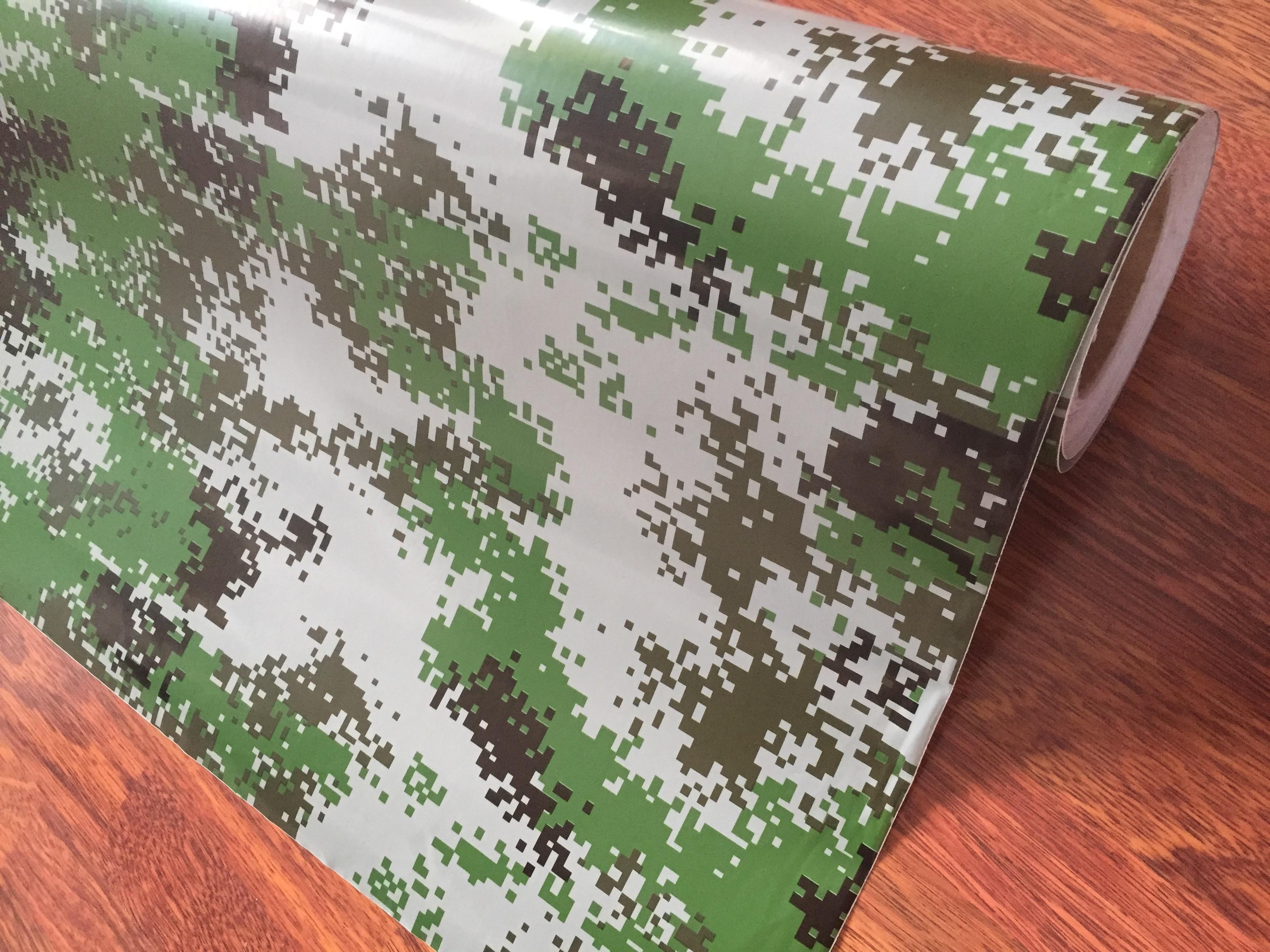 SAMOLEPÍCÍ 3D FOLIE DIGITAL ARMY VZOR 01 - 30cm x 50cm