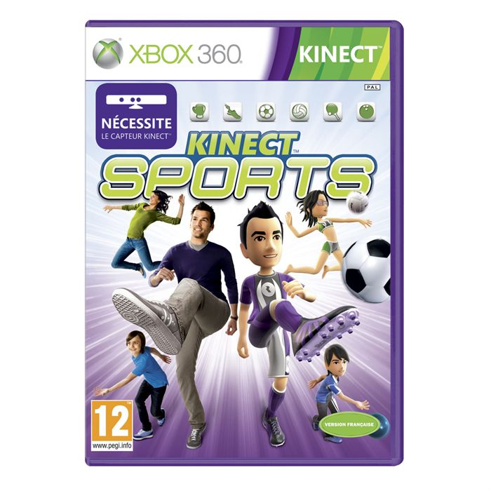 Kinect Sports 1 -  XBOX 360