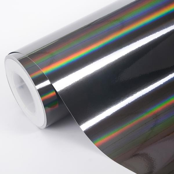 HOLOGRAPHIC CHROM BLACK 152cm x 18m