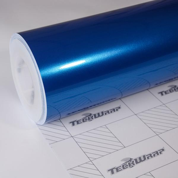 GLOSS METALLIC CERULEAN BLUE 152cm x 18m