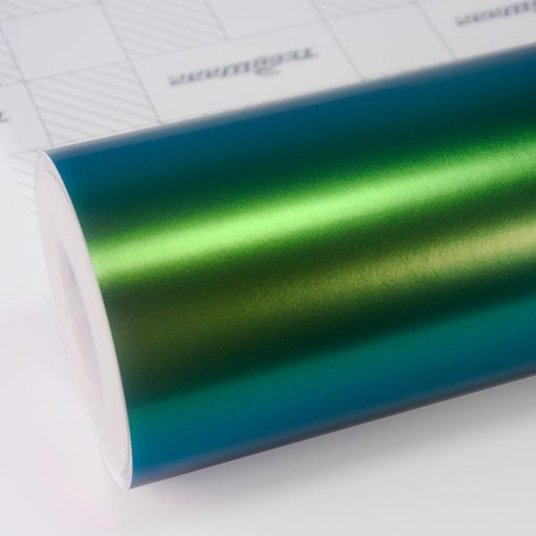 RAINBOW DRIFT METALLIC MATTE PEACOCK GREEN 152cm x 18m