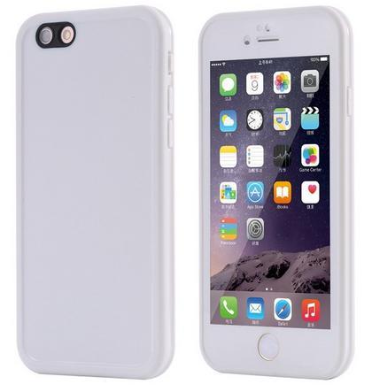 Bílý vodotěsný obal iphone 5 5s SE 6 6S 6Plus 6sPlus 7 7Plus 8 8Plus empty 77d8534ec8e