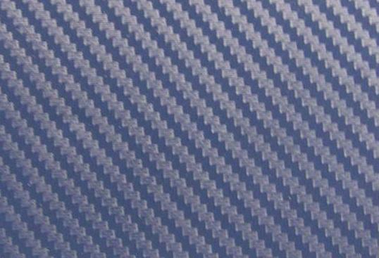 152cm x 10m CARBON KARBON FOLIE 3D Modrá DARK s kanálky
