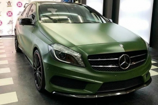 SUPER MATTE ARMY GREEN 152cm x 1m